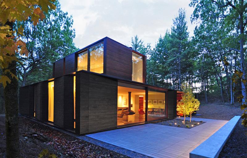 Pleated House exterior