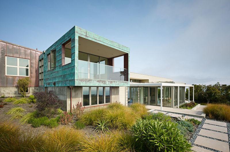 San Francisco Coastal Home exterior
