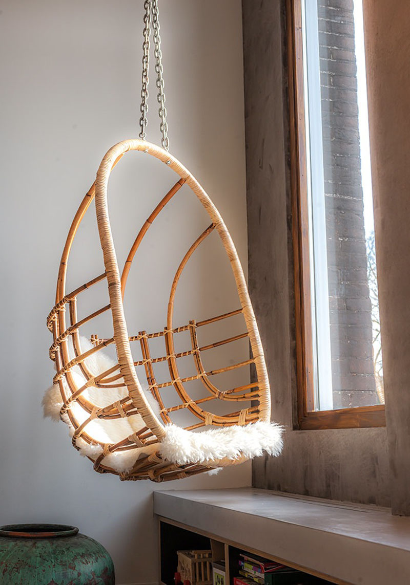 Amsterdam Office to Home hanging chair