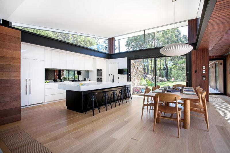 Yarra River House kitchen