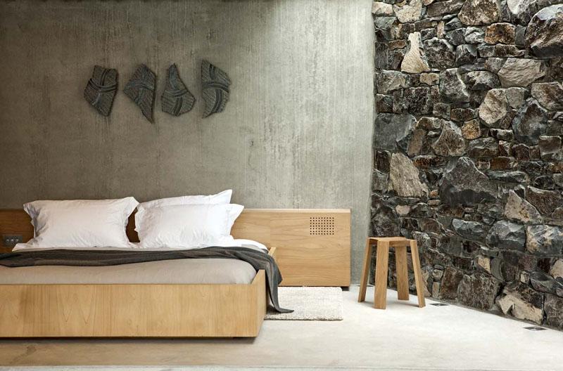 Seascape sleeping area