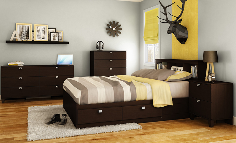 Karma Storage Mate's Customizable Bedroom Set
