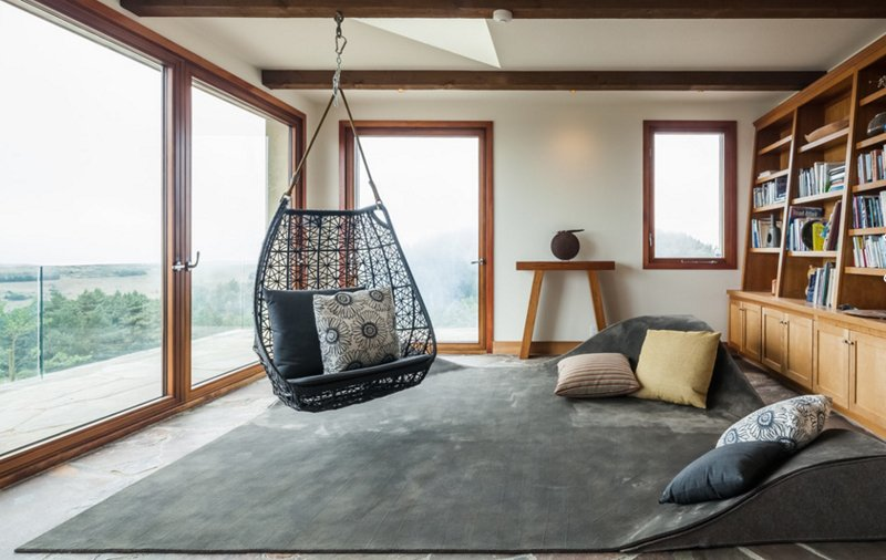 20 Fascinating Swing Chairs in the Living Room | Home Design r