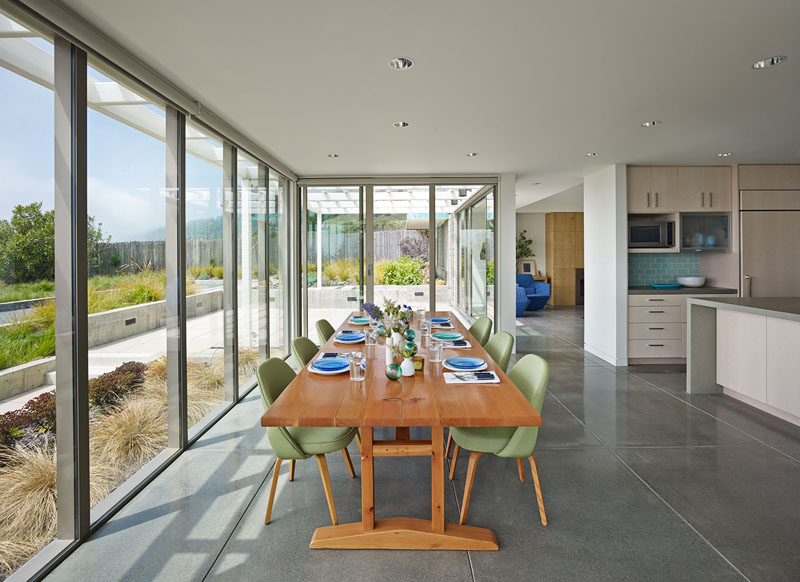 San Francisco Coastal Home dining