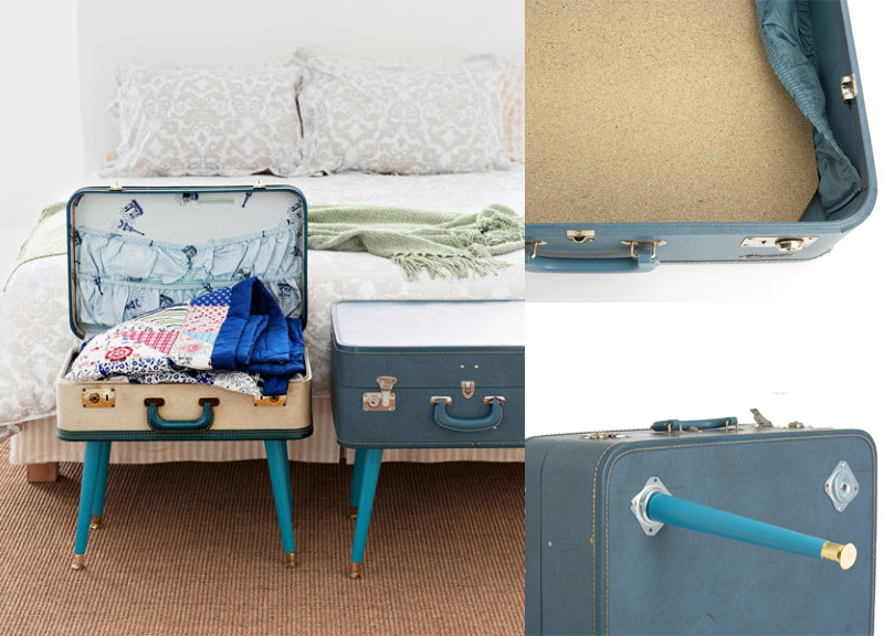 DIY a Suitcase Table in 3 Easy Steps