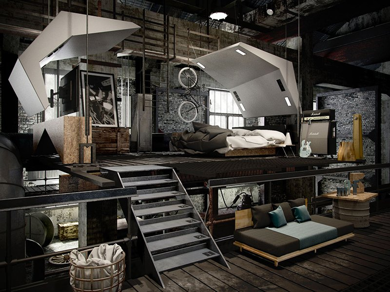 Beautiful Loft Style Home Designs Ideas - Interior Design Ideas ...