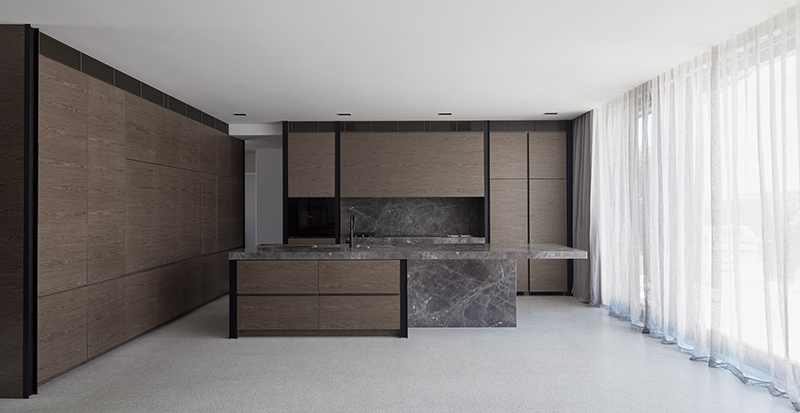 Canterbury Road Residence kitchen