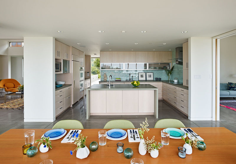 San Francisco Coastal Home kitchen