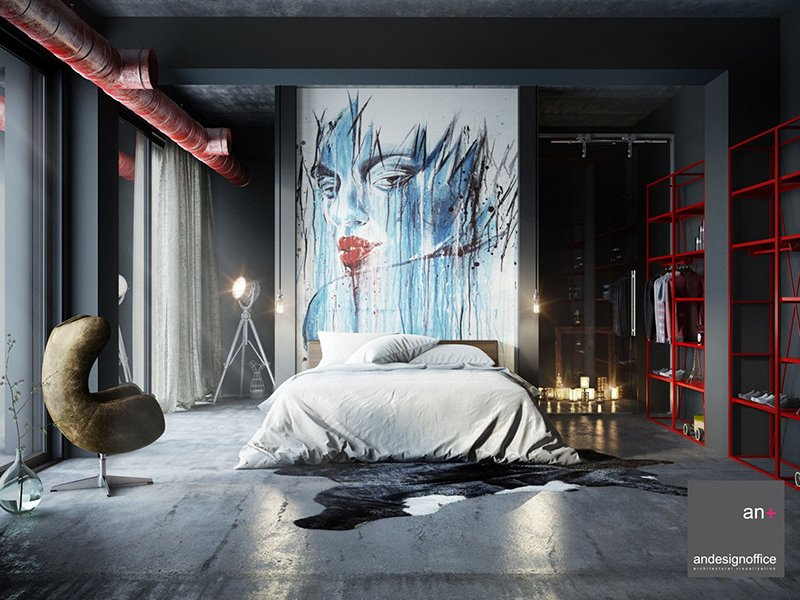 Genial Loft Bedroom Design