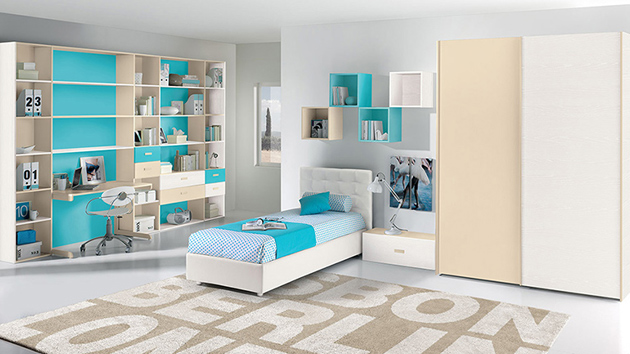 25 modern kids bedroom designs perfect for both girls and for Latest children bedroom designs