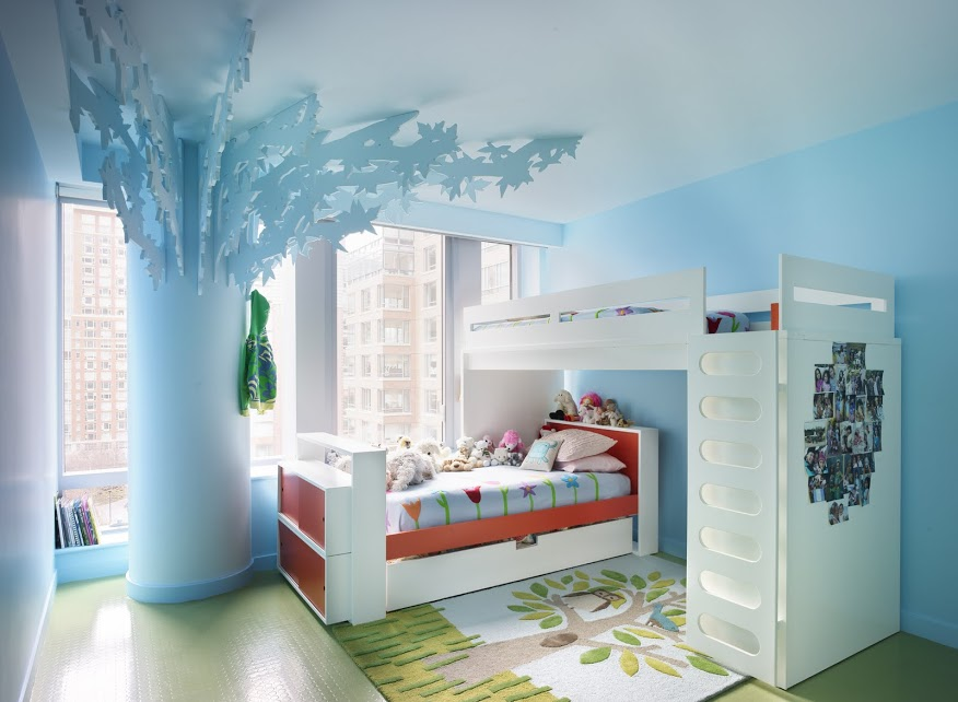 Bohemian Apartment children's bedrooms