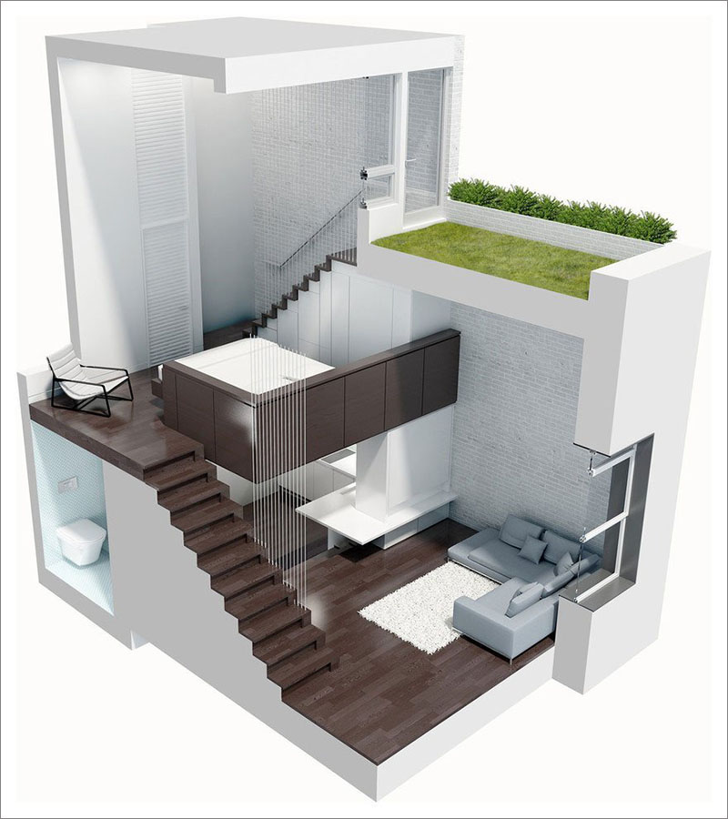 Manhattan Microloft plan
