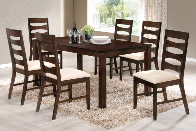 Dining Table Wooden Chair Design