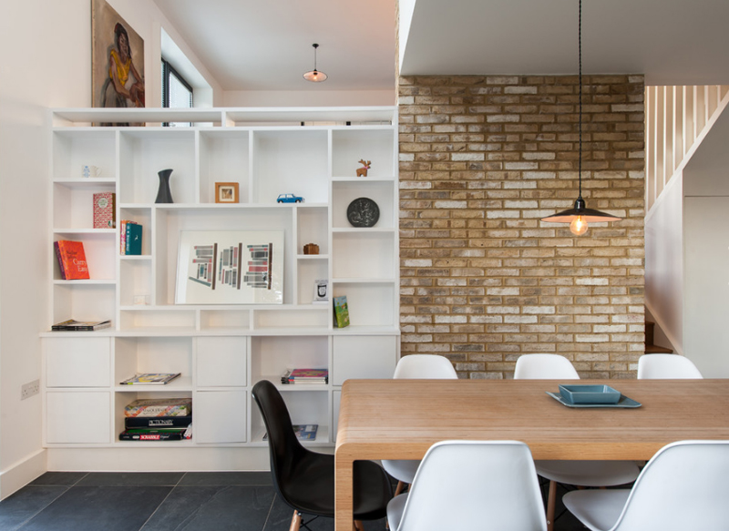 25 Awesome Shelving In The Dining Room