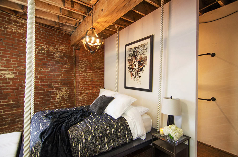 20 Wonderful Industrial Lamps In The Bedroom Home Design