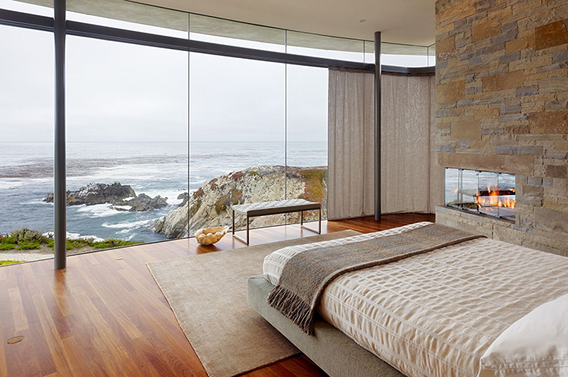 Floor To Ceiling Windows 22 bedrooms with floor to ceiling windows | home design lover