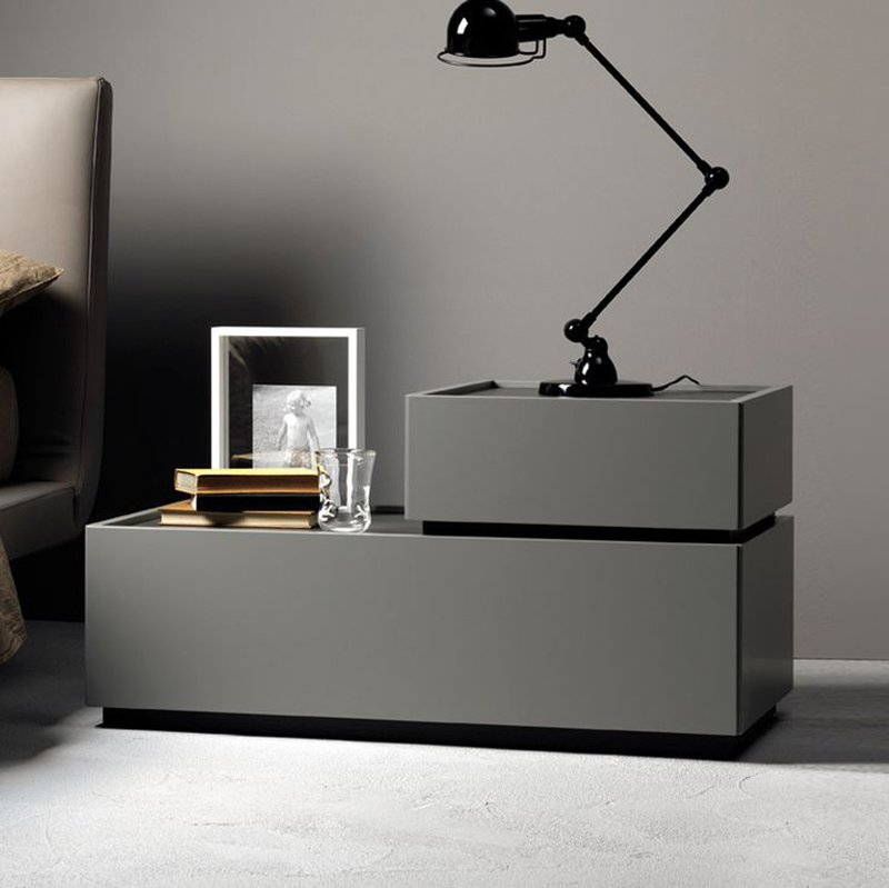 22 Sleek Modern Nightstands for the Bedroom | Home Design