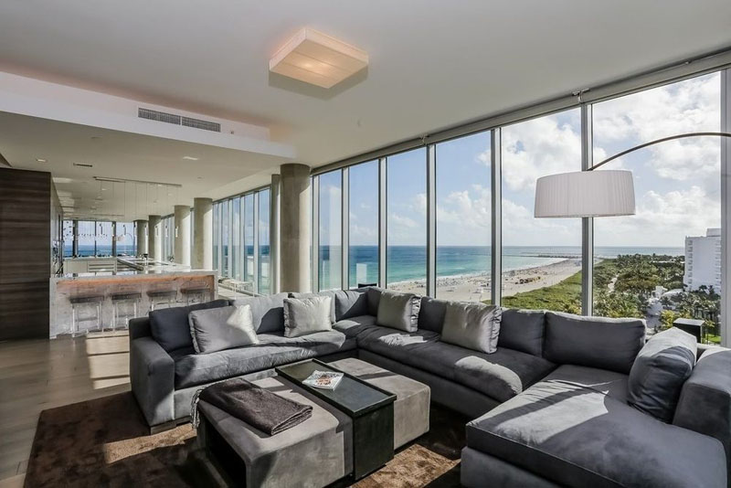 321 Ocean Penthouse furniture