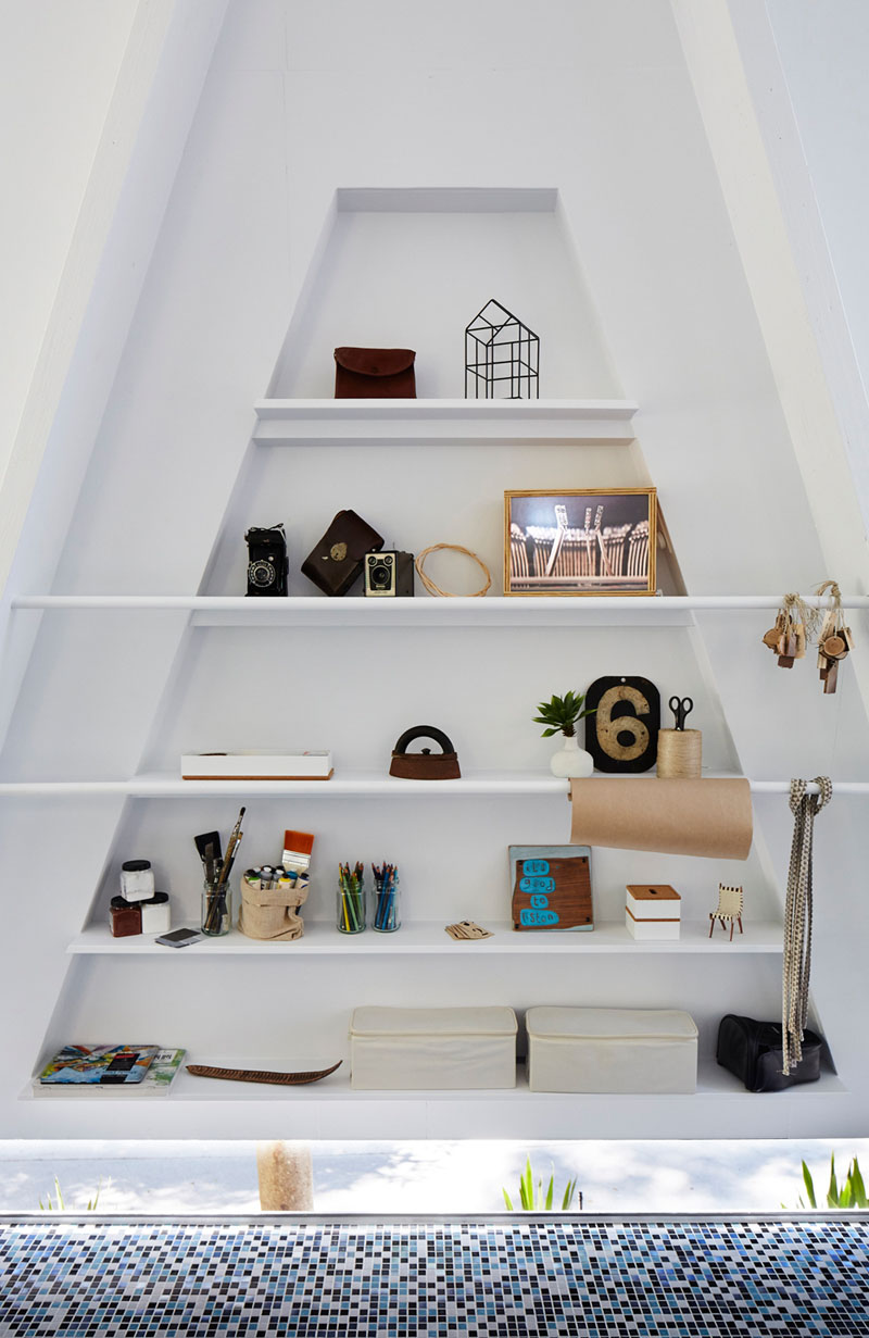Studio Shed shelf