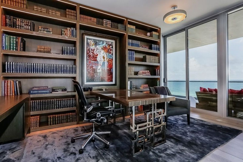 321 Ocean Penthouse office