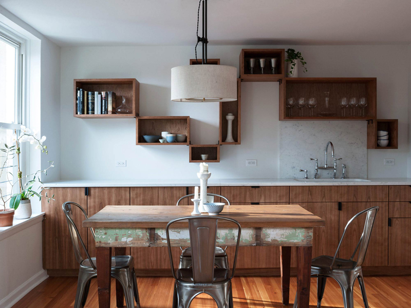 25 Awesome Shelving In The Dining Room Home Design Lover