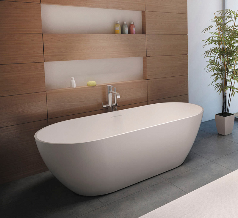 22 Free Standing Oval Bath Tubs In The Bathroom