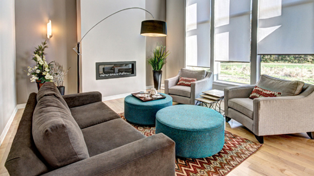 24 Splendid Examples Of Circular Ottoman Coffee Tables In The Living Room Home Design Lover