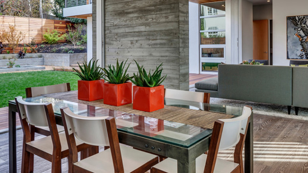 20 Unique Planters in Dining Rooms | Home Design Lover
