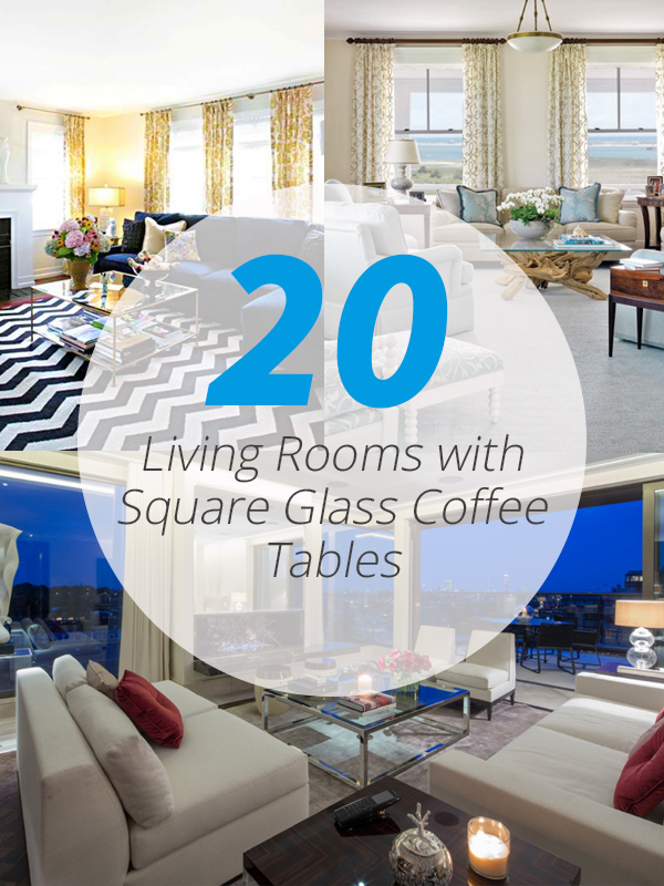 square glass coffee tables lr