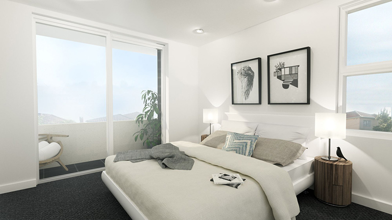 22 Stunning and Neat White Condo Bedrooms | Home Design Lover