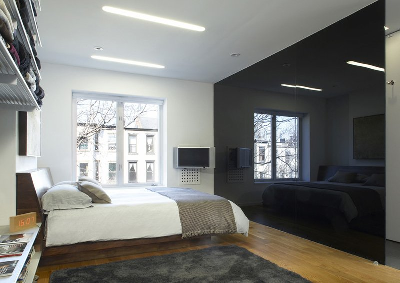 20 Beautiful Black Accent Walls in Different Bedrooms Home Design