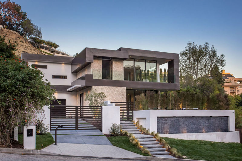 Rising Glen A Beautiful Modern Home In Hollywood Hills Los Angeles Home Design Lover