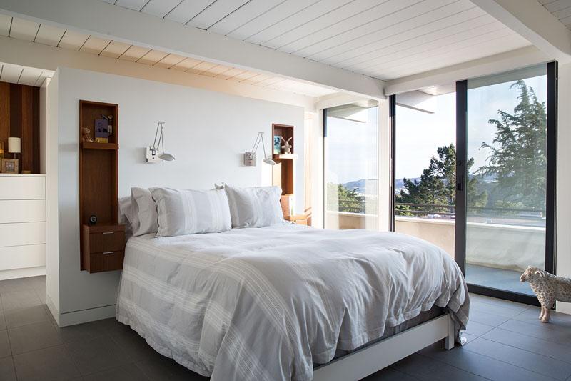 San Francisco Eichler House bedroom