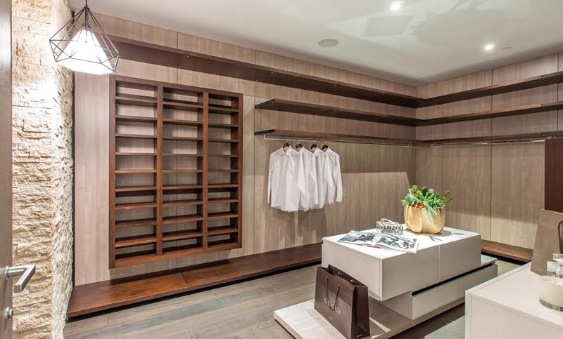 Rising Glen walk-in closet