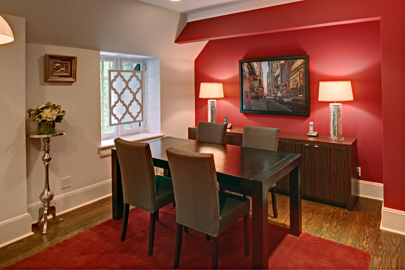 20 Fab Red Accent Walls In Dining Rooms Home Design Lover