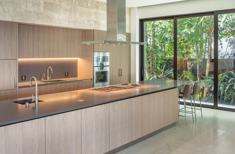Floating Eaves Kitchen