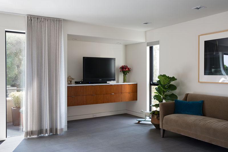 San Francisco Eichler House living room