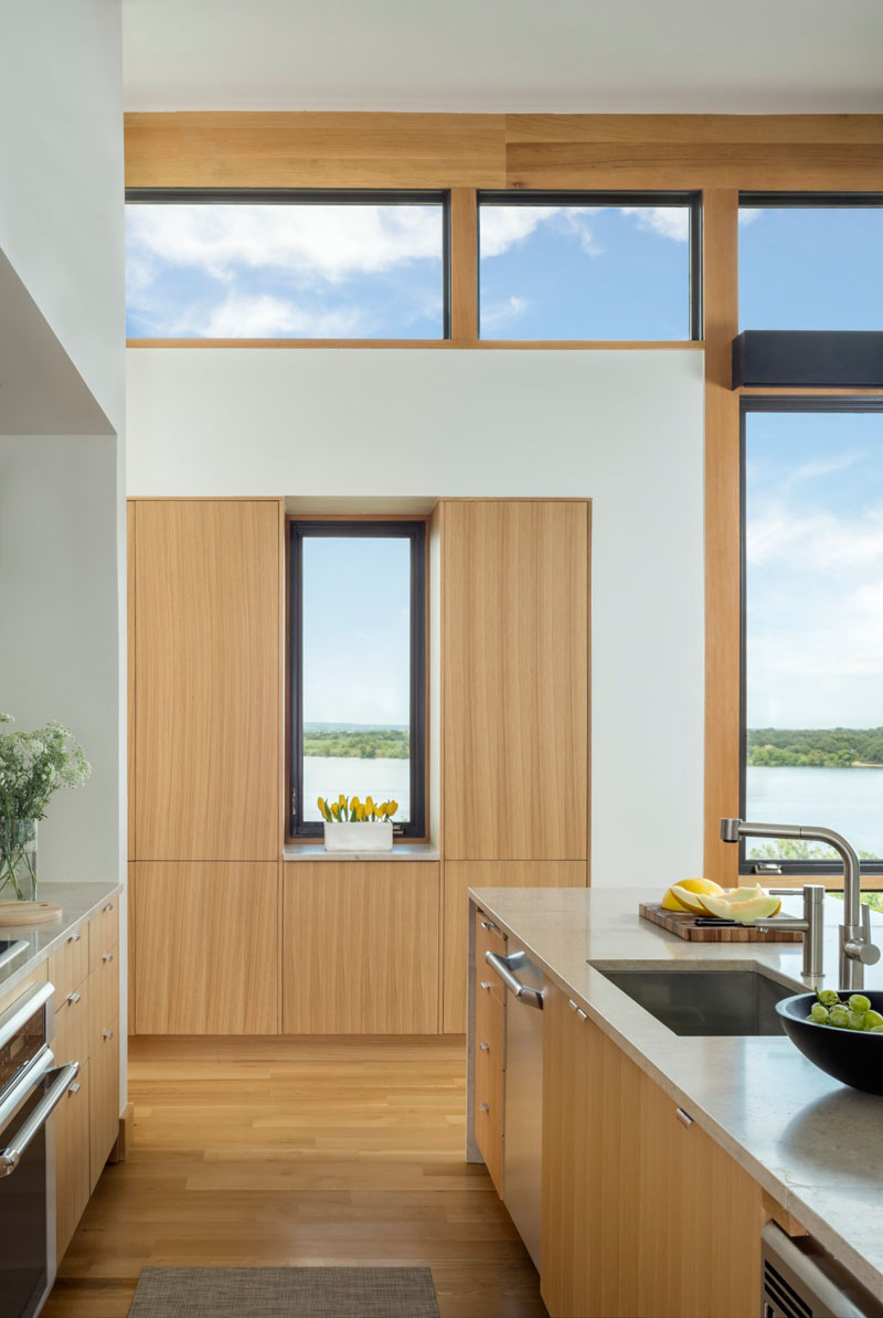 Blue Lake Retreat windows