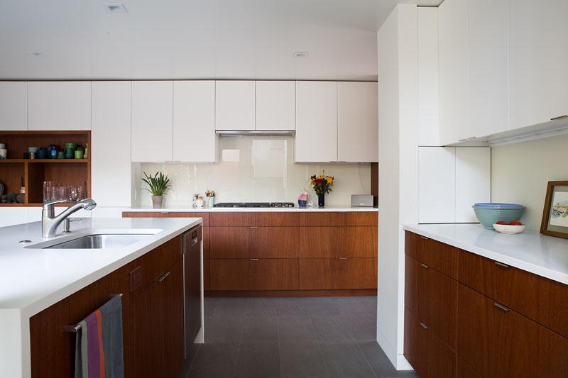 San Francisco Eichler House kitchen