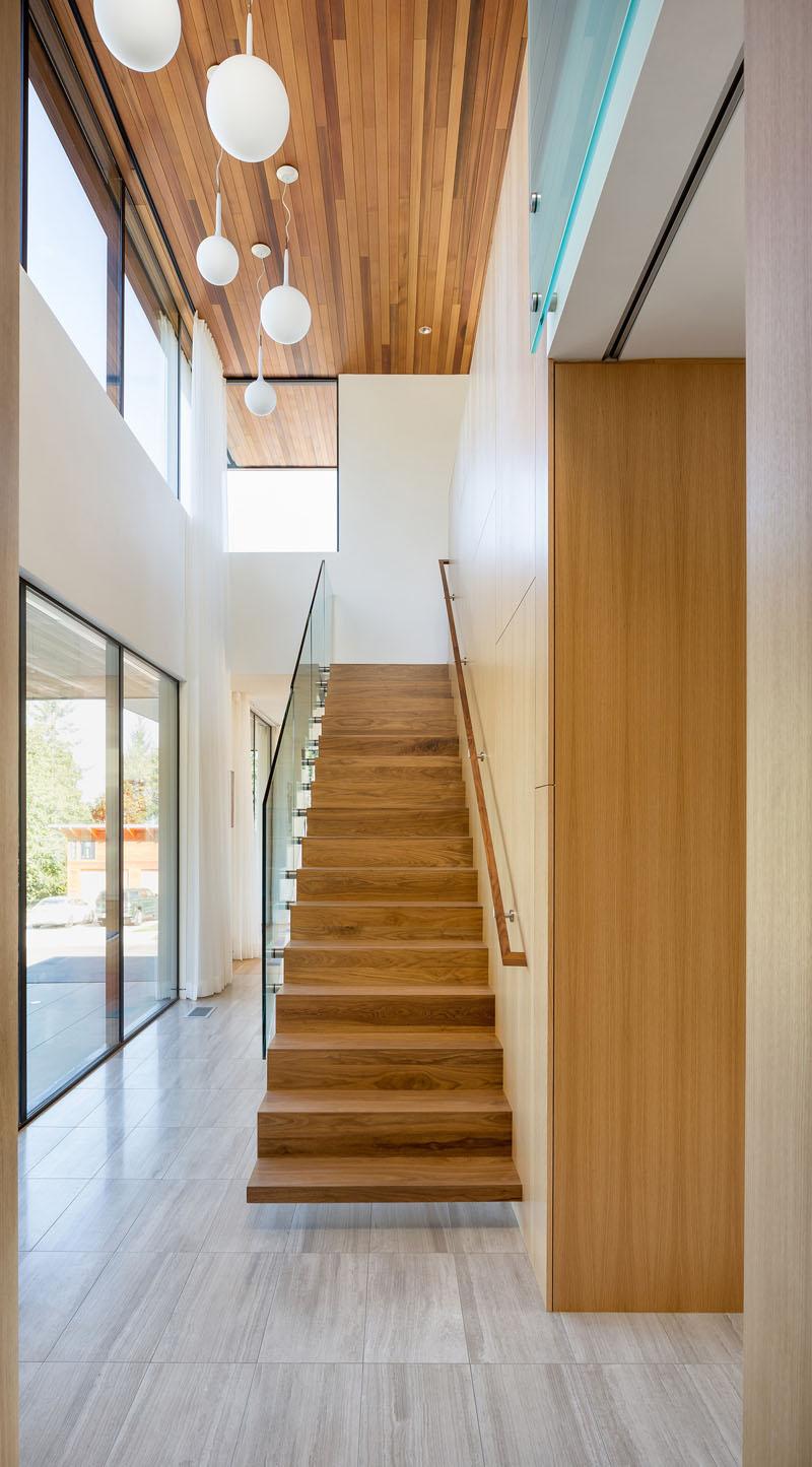 Ash House Porland stairs