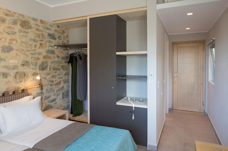Atrium Villas master bedrooms