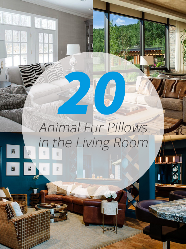 animal fur living rooms