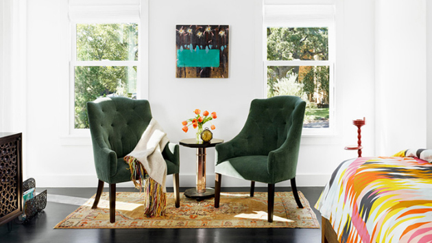 20 gorgeous green chairs in the bedroom home design lover rh homedesignlover com