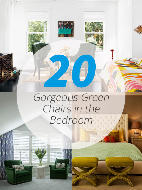 green chair bedrooms