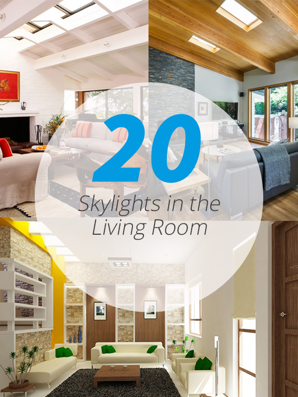 skylights livingrooms