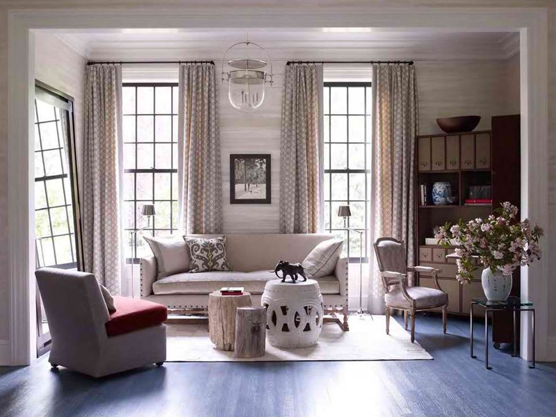 20 stunning living rooms with multiple coffee tables for Stunning living rooms