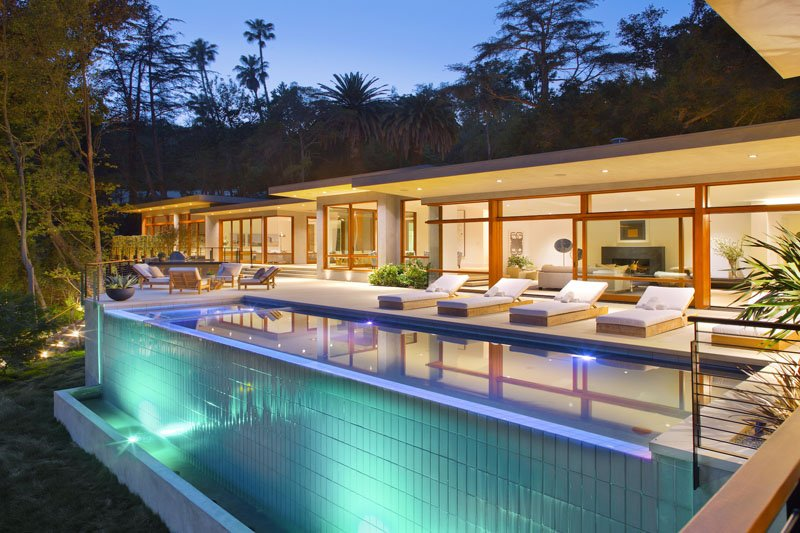 Feldman House Infinity Pool