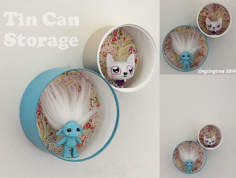 Tin Can Shelf Craft