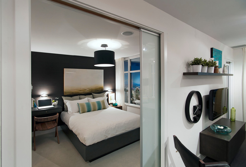 22 Gorgeous Bedrooms With Glass Sliding Doors Home Design Lover