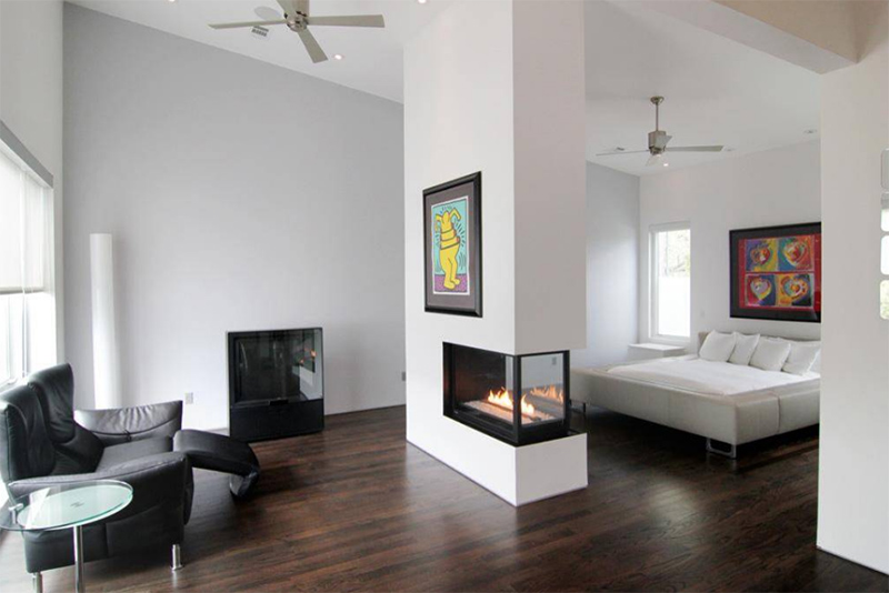 20 Double Sided Fireplace In The Bedroom Home Design Lover